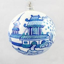 THOMAS GLENN PAGODA BALL ORNAMENT