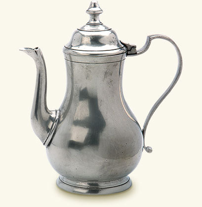 MATCH PEWTER COFFEE POT