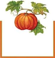 CASPARI JARDIN D'AUTOMNE PACE CARDS, SET OF 8