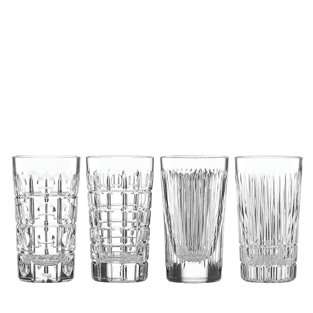 REED & BARTON NEW VINTAGE HIGHBALLS, SET OF 4