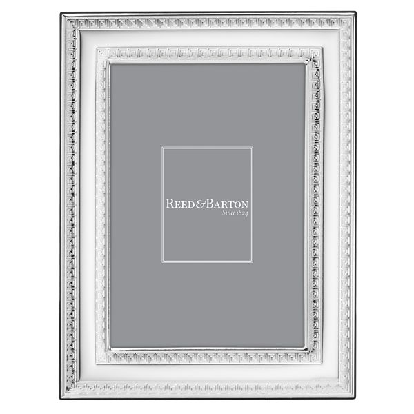 REED & BARTON FLORENCE SILVERPLATE 5*7 FRAME