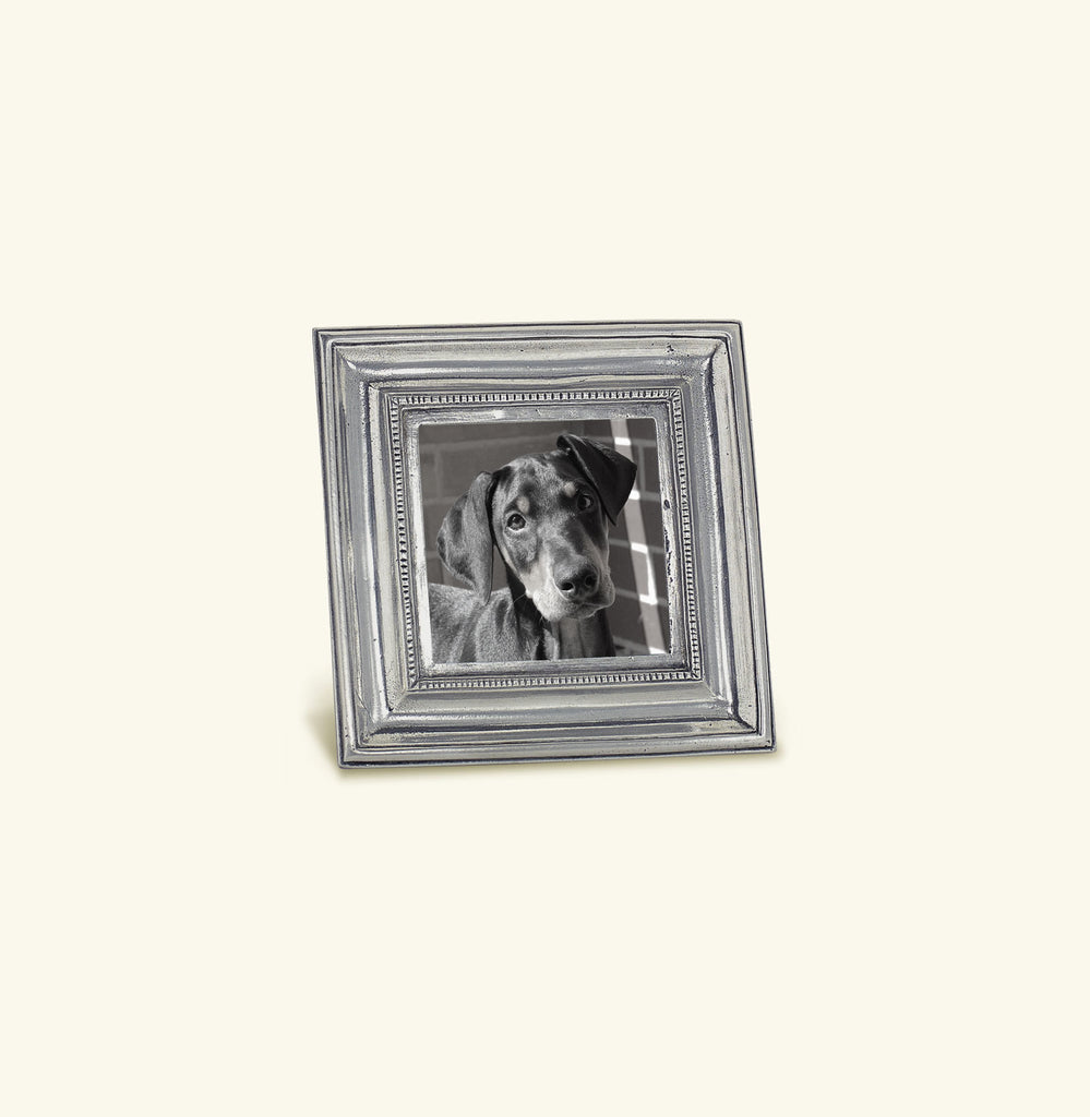 MATCH PEWTER TOSCANA SQUARE FRAME, SMALL