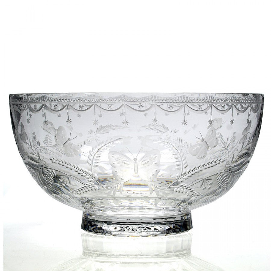 WILLIAM YEOWARD CRYSTAL ABIGAIL WEDDING BOWL