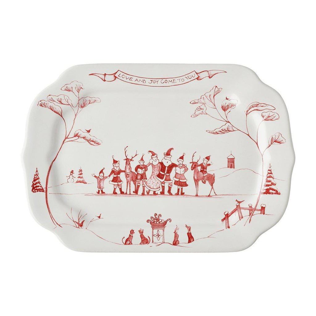 JULISKA COUNTRY ESTATE WINTER FROLIC LOVE & JOY GIFT TRAY