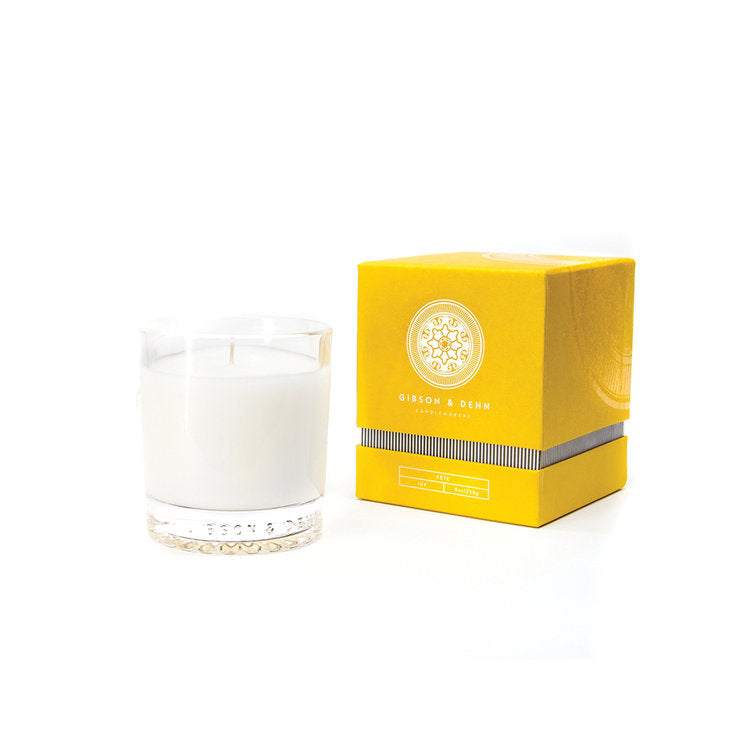 GIBSON & DEHN FETE CHAMPAGNE SORBET CANDLE