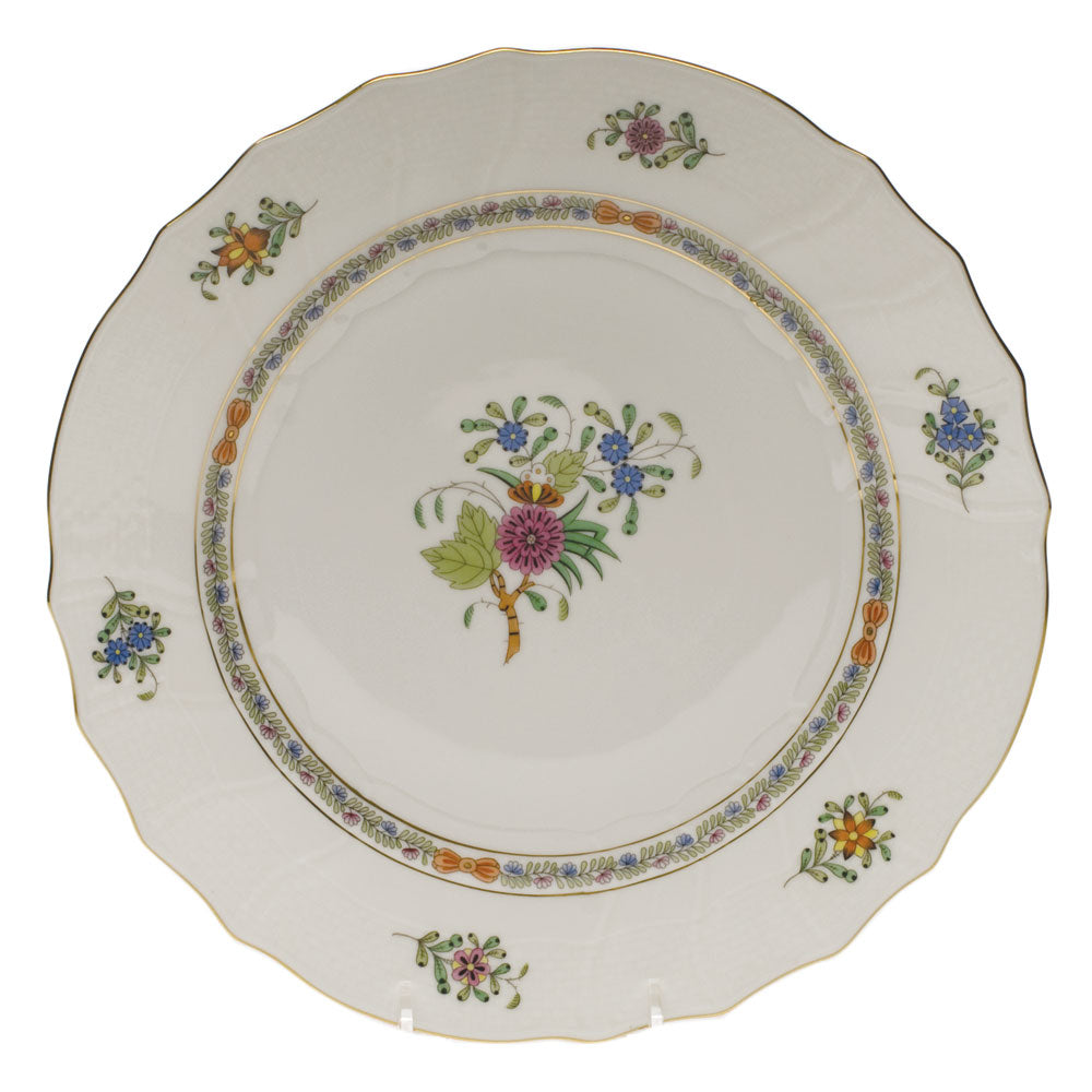 HEREND WINDSOR GARDEN SALAD PLATE