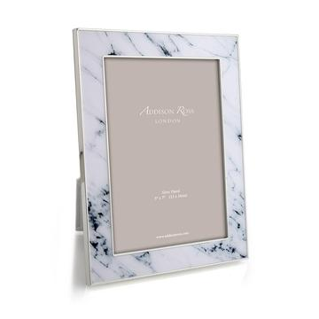 ADDISON ROSS WHITE MARBLE FRAME, 5*7
