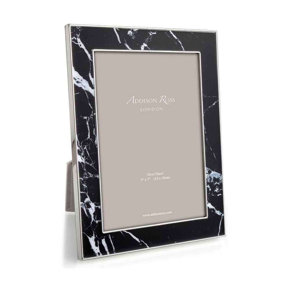 ADDISON ROSS BLACK MARBLE FRAME, 8*10