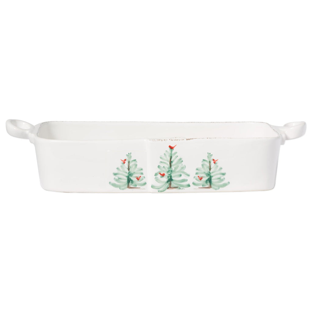 VIETRI LASTRA HOLIDAY RECTANGULAR BAKER