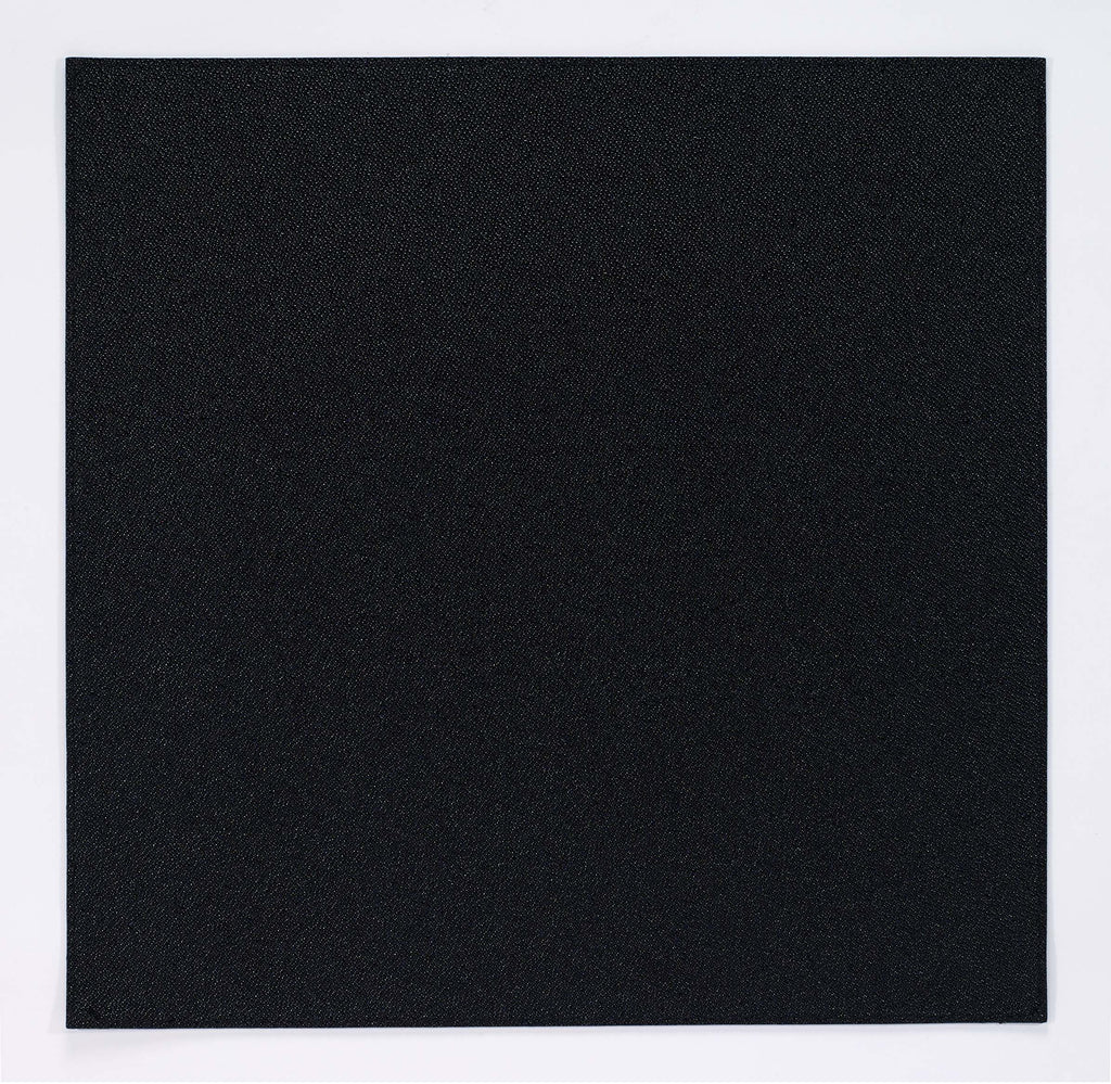 BODRUM LINEN SKATE BLACK SQUARE PLACEMAT, SET OF 2,
