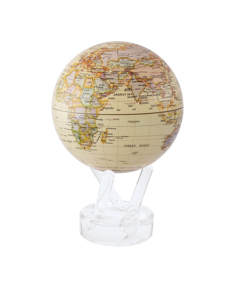 MOVA ANTIQUE GLOBE WITH ACRYLIC BASE, 4.5""