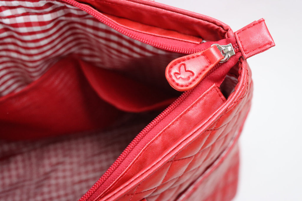 DD BIRD NASH RED NYLON BAG