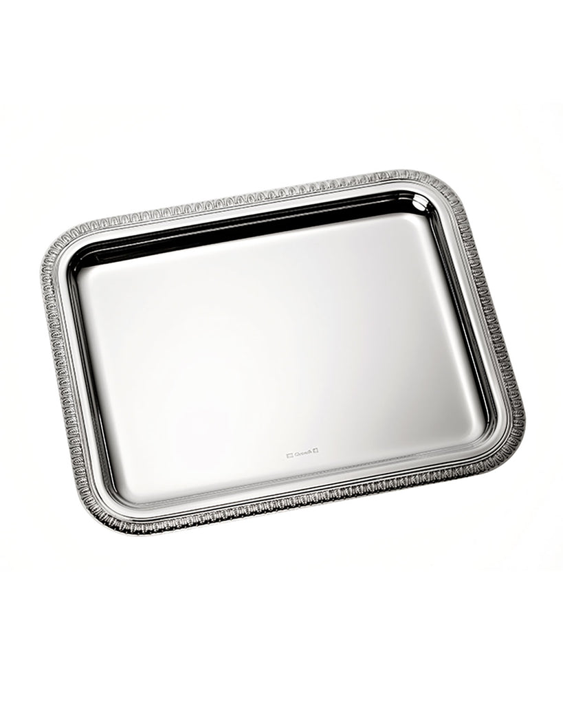 CHRISTOFLE MALMAISON SILVER PLATED SMALL RECTANGULAR TRAY