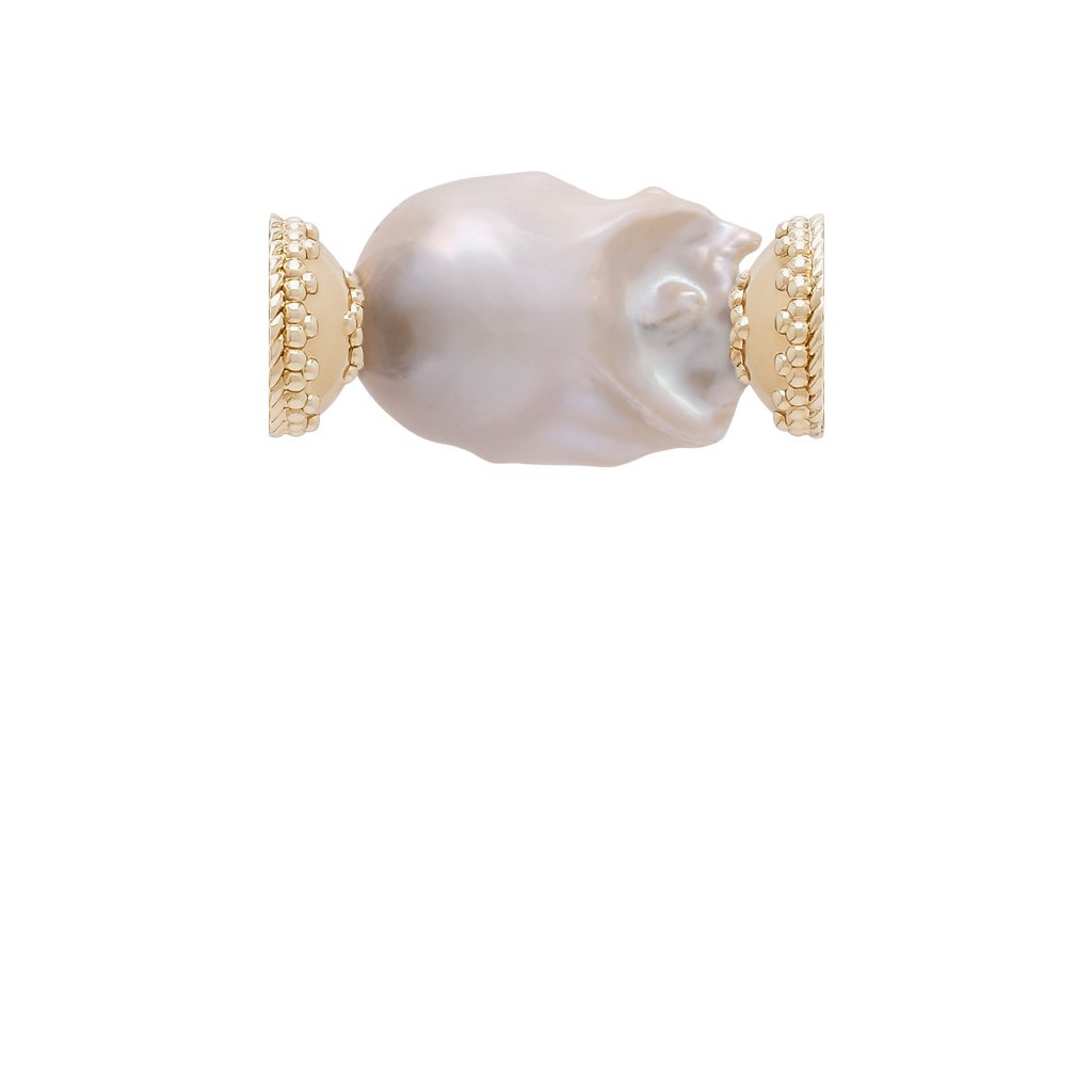 CLARA WILLIAMS CLASSIC FRESHWATER BAROQUE PEARL CENTERPIECE