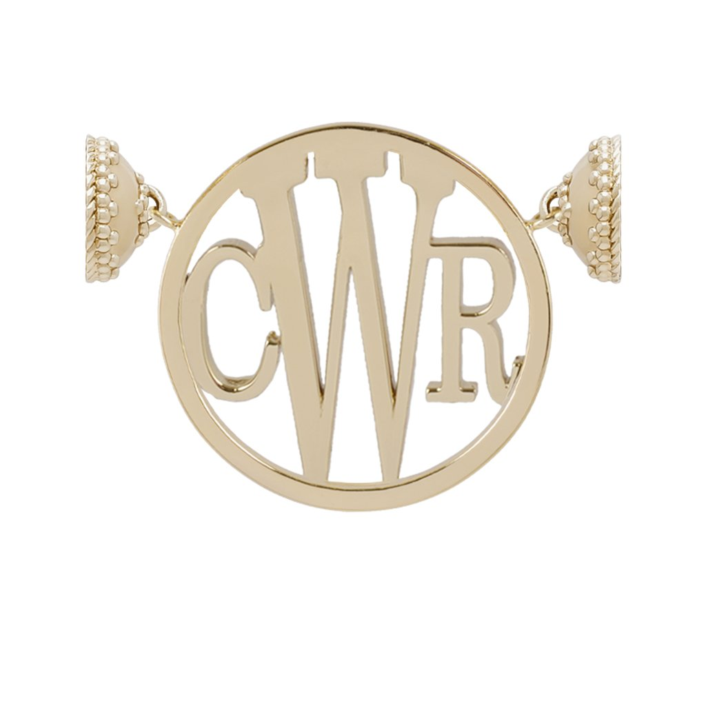 CLARA WILLIAMS MOLLY MONOGRAM 14K GOLD CENTERPIECE