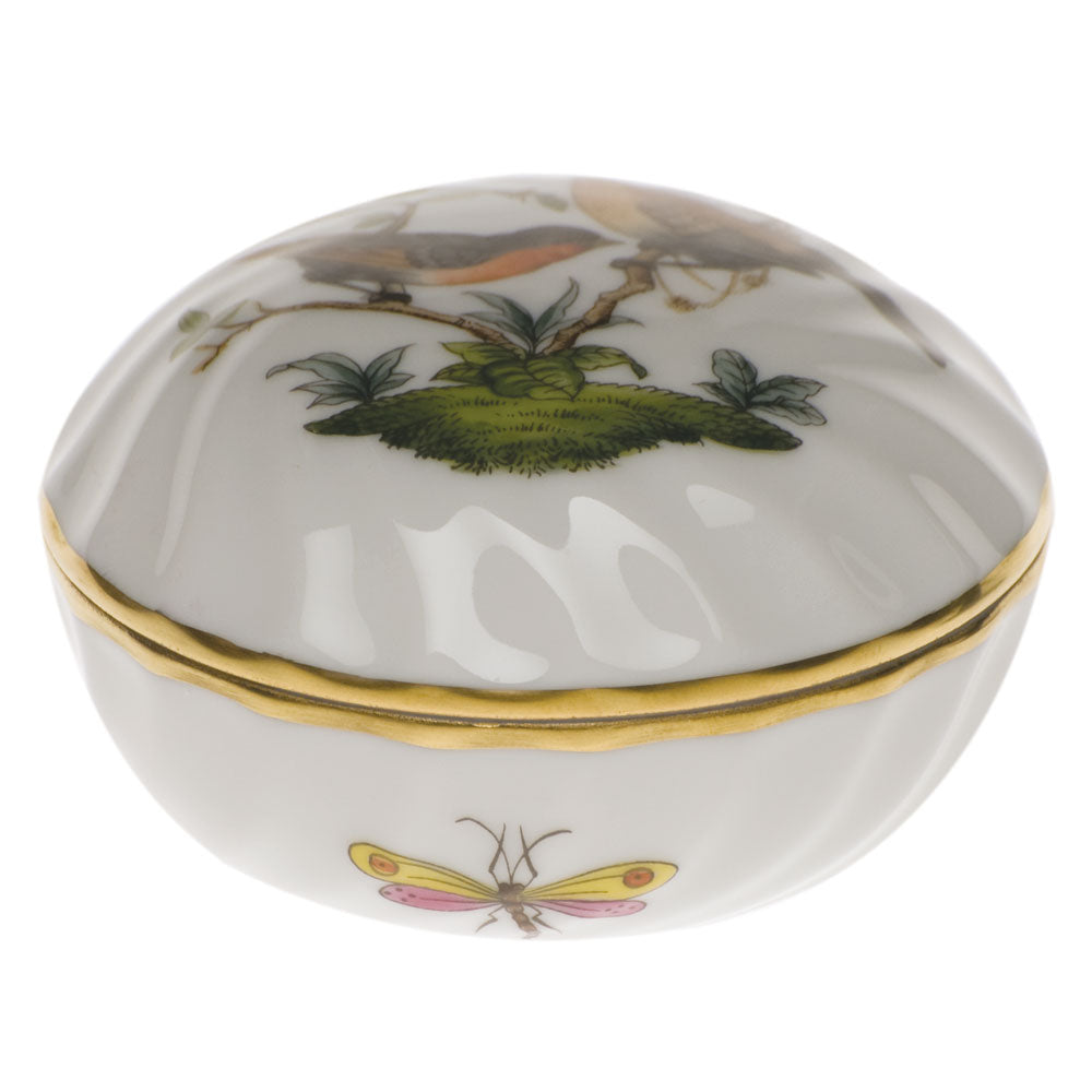 HEREND ROTHSCHILD BIRD RING BOX