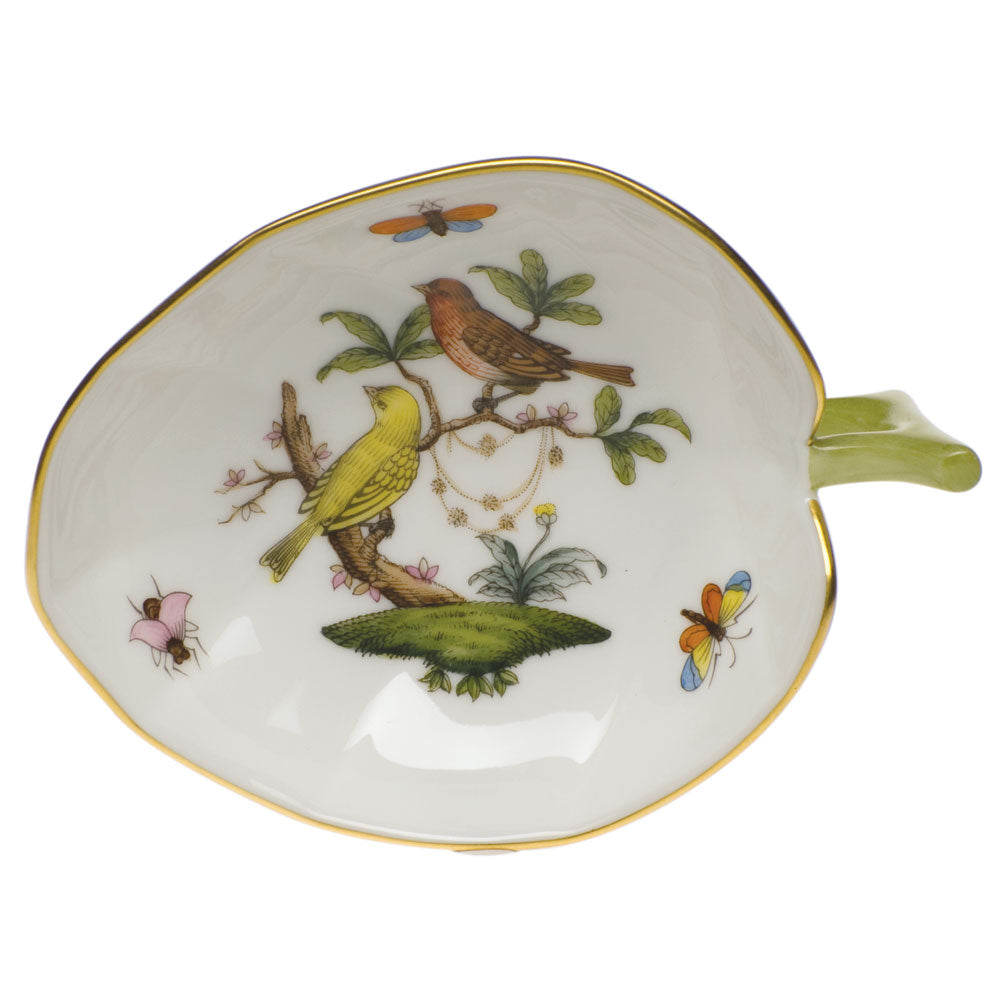 HEREND ROTHSCHILD BIRD LEAF TRAY