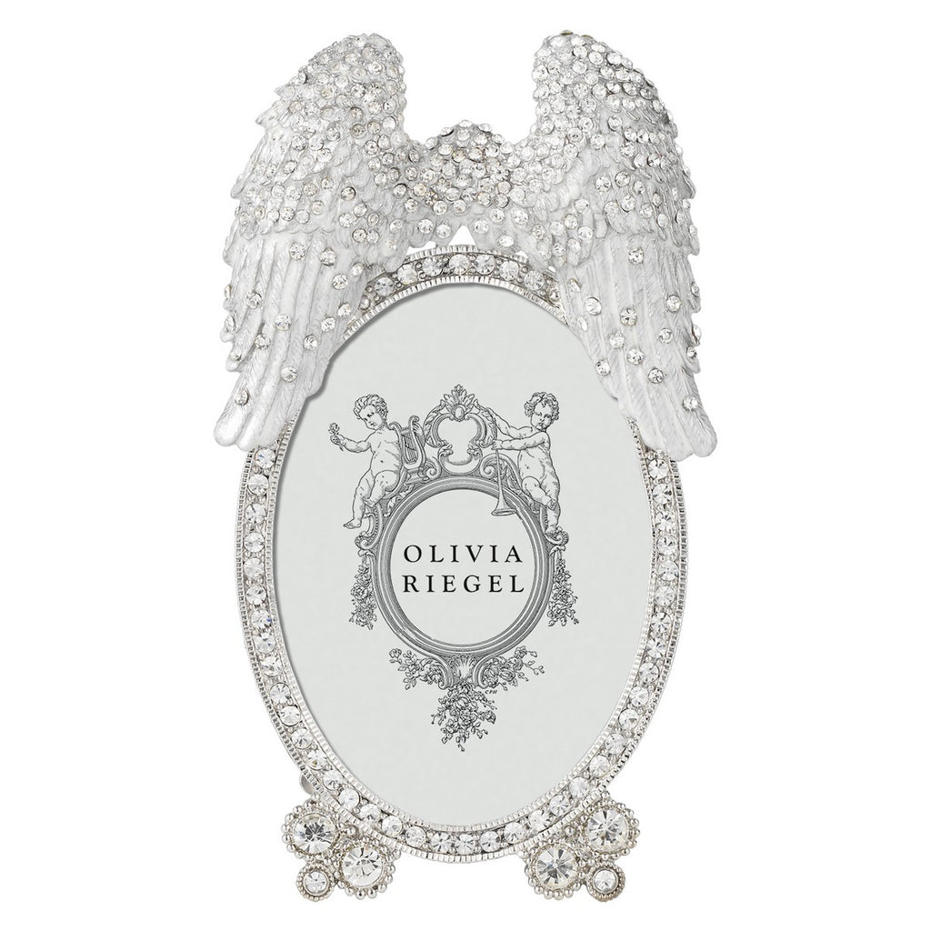 "OLIVIA RIEGEL ANGEL WINGS 2.5"" * 3.5"" FRAME"