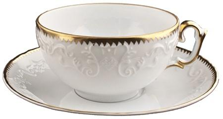 ANNA WEATHERLEY SIMPLY ANNA GOLD TEA SAUCER