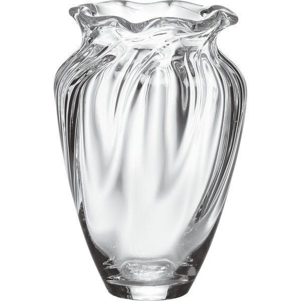 SIMON PEARCE CHELSEA OPTIC CINCHED MEDIUM VASE