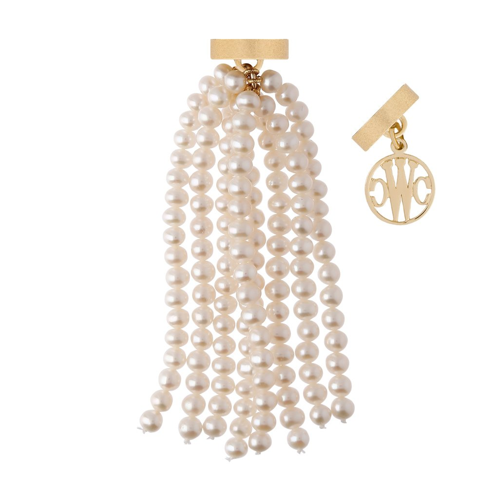 CLARA WILLIAMS MARGARET FRESHWATER POTATO PEARL TASSEL