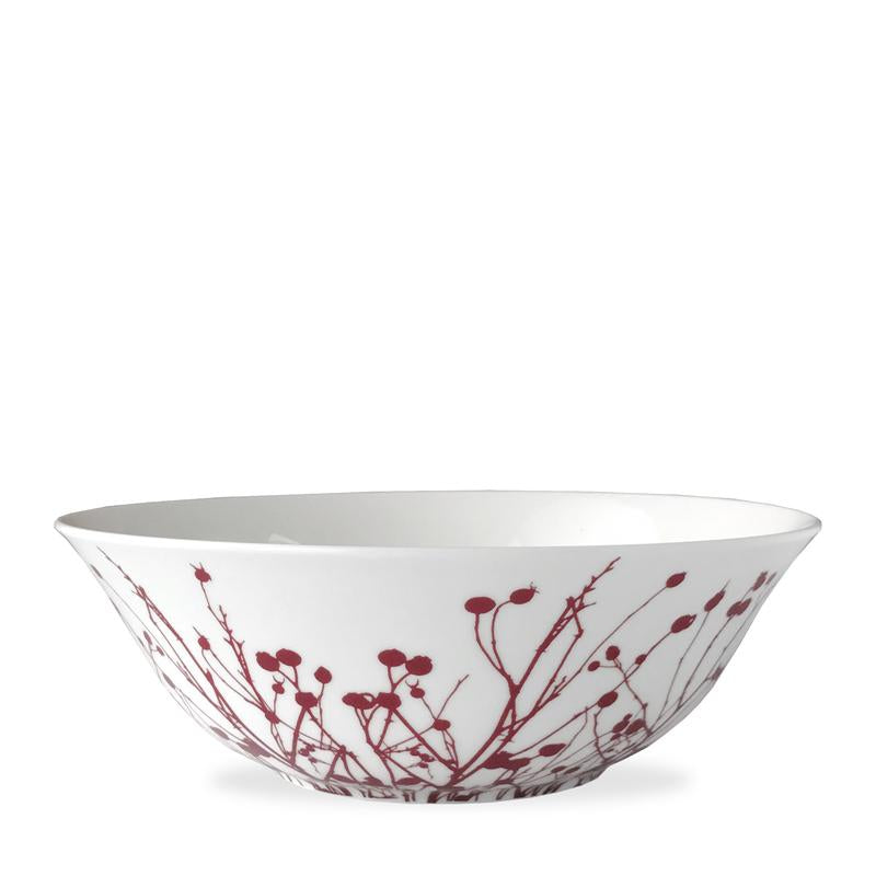 "CASKATA WINTER BERRIES 9.5"" MEDIUM SERVING BOWL"