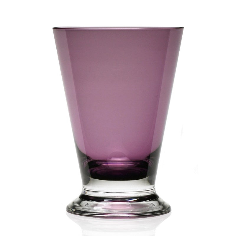 WILLIAM YEOWARD COUNTRY FANNY AMETHYST OLD FASHIONED TUMBLER