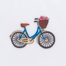 HENRY HANDWORK BICYCLE WITH FLOWERS