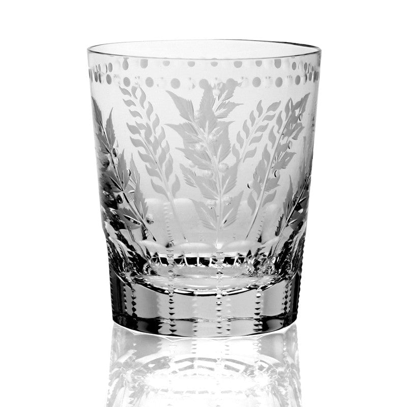 WILLIAM YEOWARD CRYSTAL FERN DOUBLE OLD FASHIONED