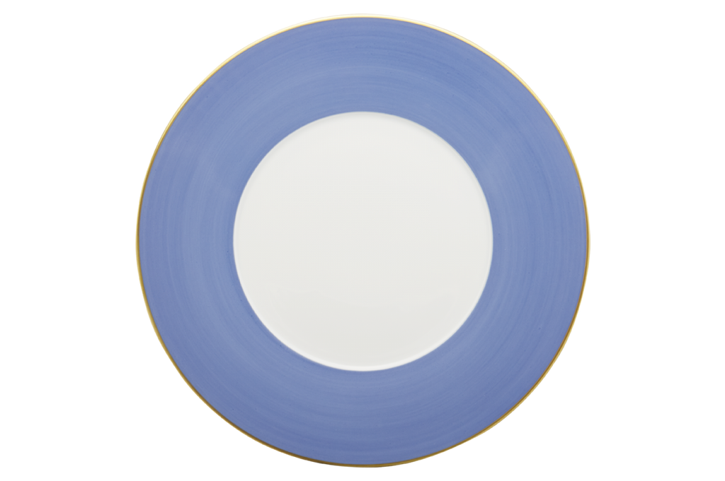 ROBERT HAVILAND LEXINGTON PRESENTATION PLATE, AZURE