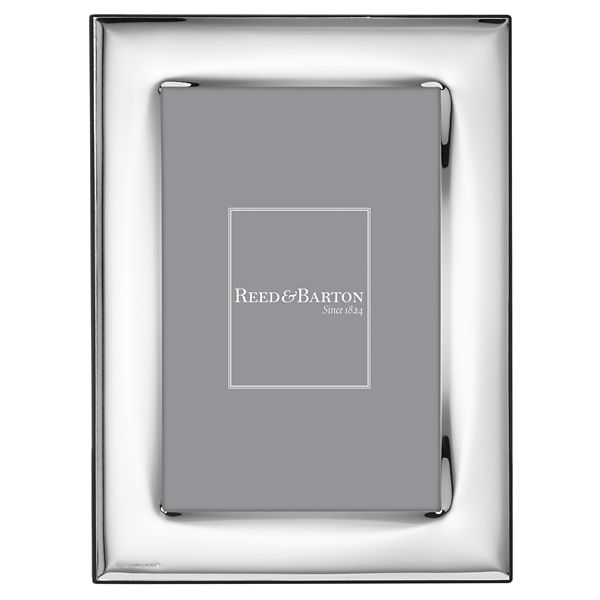 REED & BARTON NAPLES SILVERPLATE 5*7 FRAME