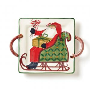 VIETRI OLD ST. NICK SQUARE PLATTER
