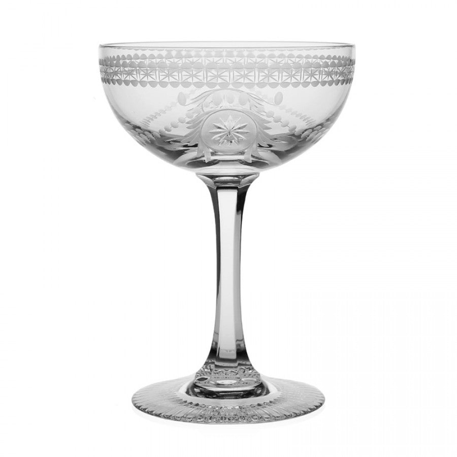 WILLIAM YEOWARD CRYSTAL PEARL CHAMPAGNE COUPE