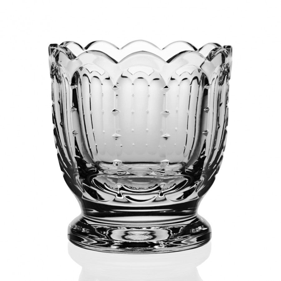 WILLIAM YEOWARD CRYSTAL POLLY VASE
