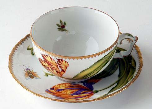 Anna Weatherley Old Master Tulip Cup and Saucer