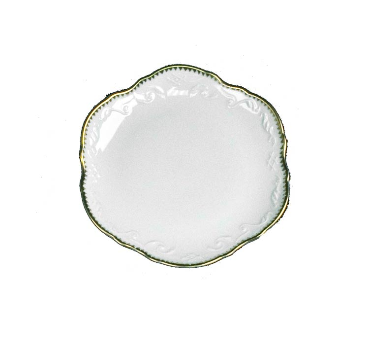 Anna Weatherley Simply Anna Gold Bread & Butter Plate