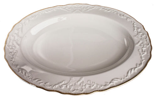 Anna Weatherley Simply Anna Gold Oval Platter