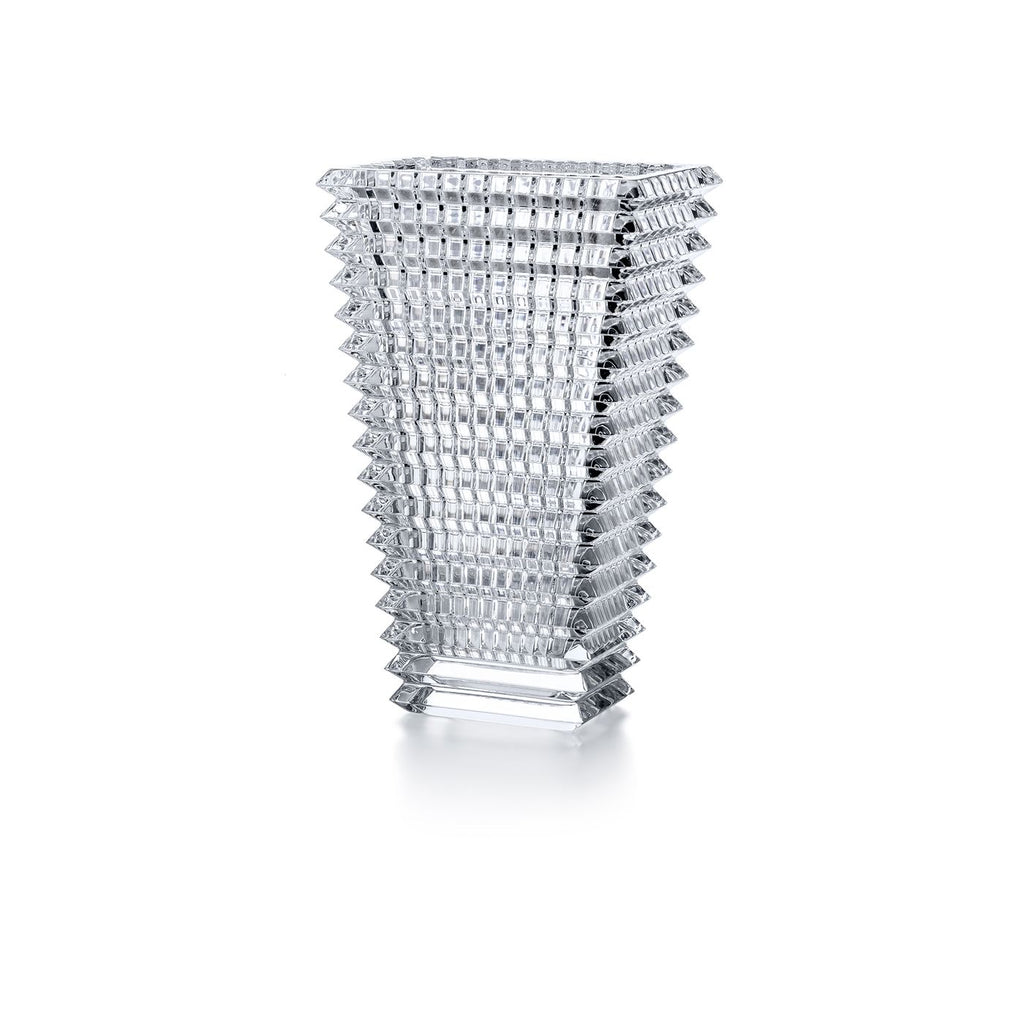 Baccarat Rectangular Eye Vase
