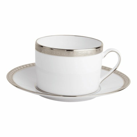 Bernardaud Athena Platinum Tea Cup and Saucer