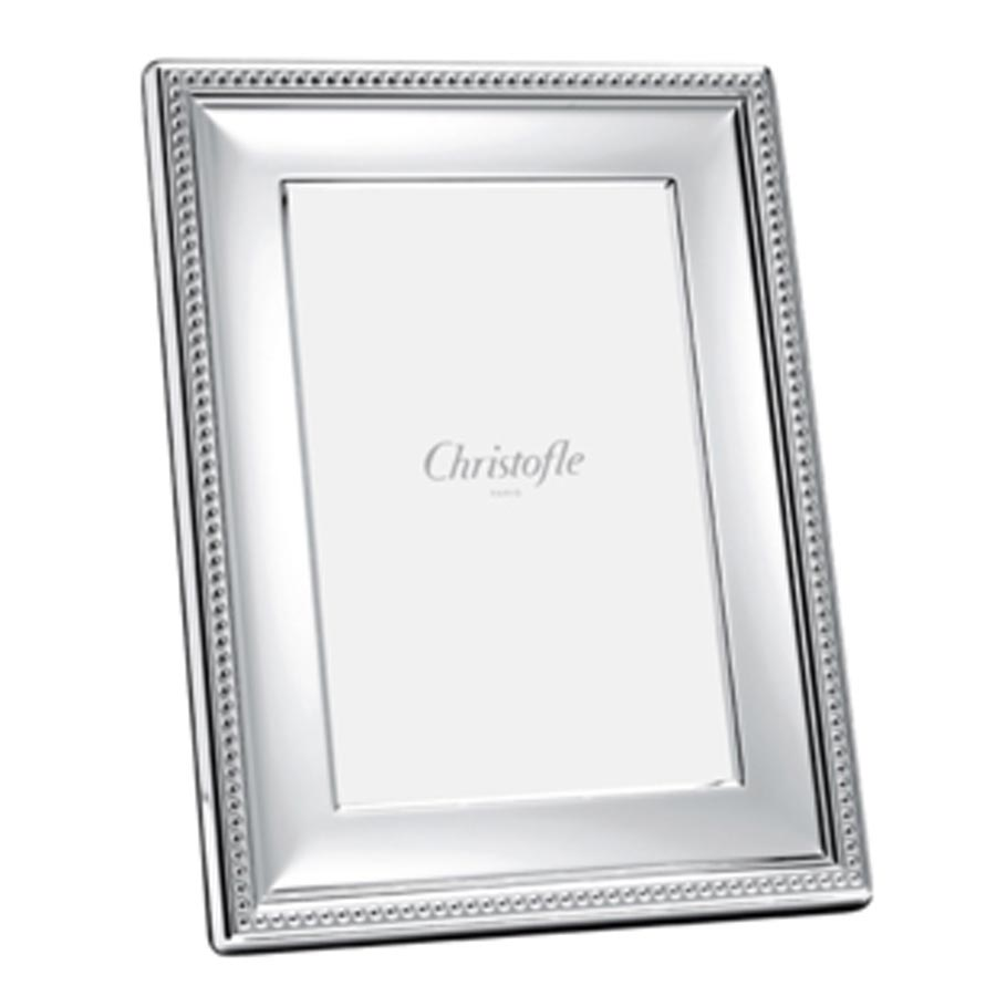 Christofle Perles Silver Frame, 8*10