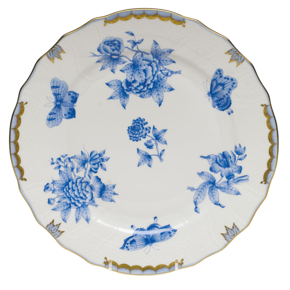 Herend Fortuna Blue Dinner Plate