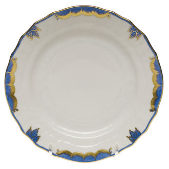 Herend Princess Victoria Bread and Butter, Blue