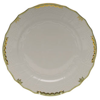 Herend Princess Victoria Green Service Plate