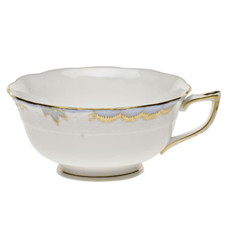 Herend Princess Victoria Light Blue  Tea Cup