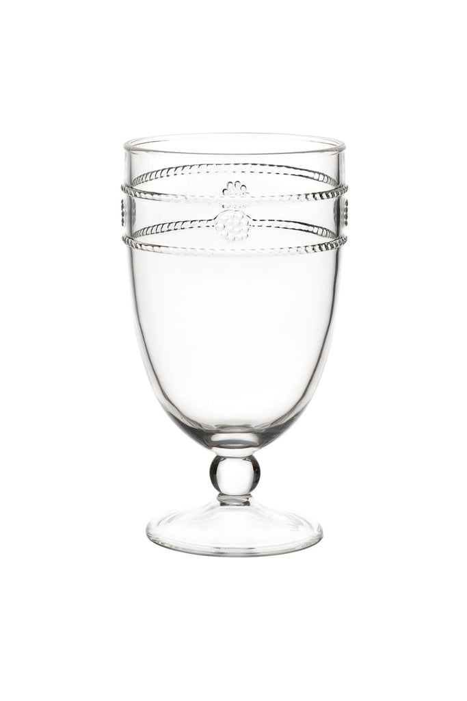 Juliska Al Fresco Isabella Acrylic Footed Goblet