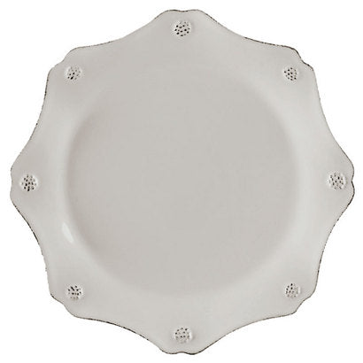 Juliska Berry and Thread White Scalloped Salad Plate