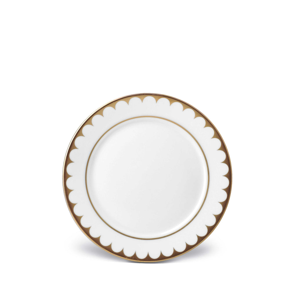 L'Objet Aegean Filet Gold Bread & Butter Plate
