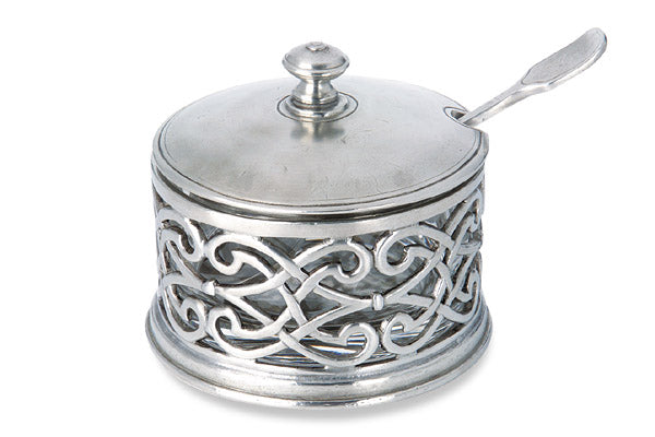 Match Pewter Cutwork Parmesan Cheese Server