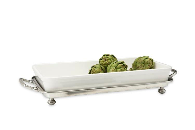 Match Pewter Convivio Baking Tray with Handles