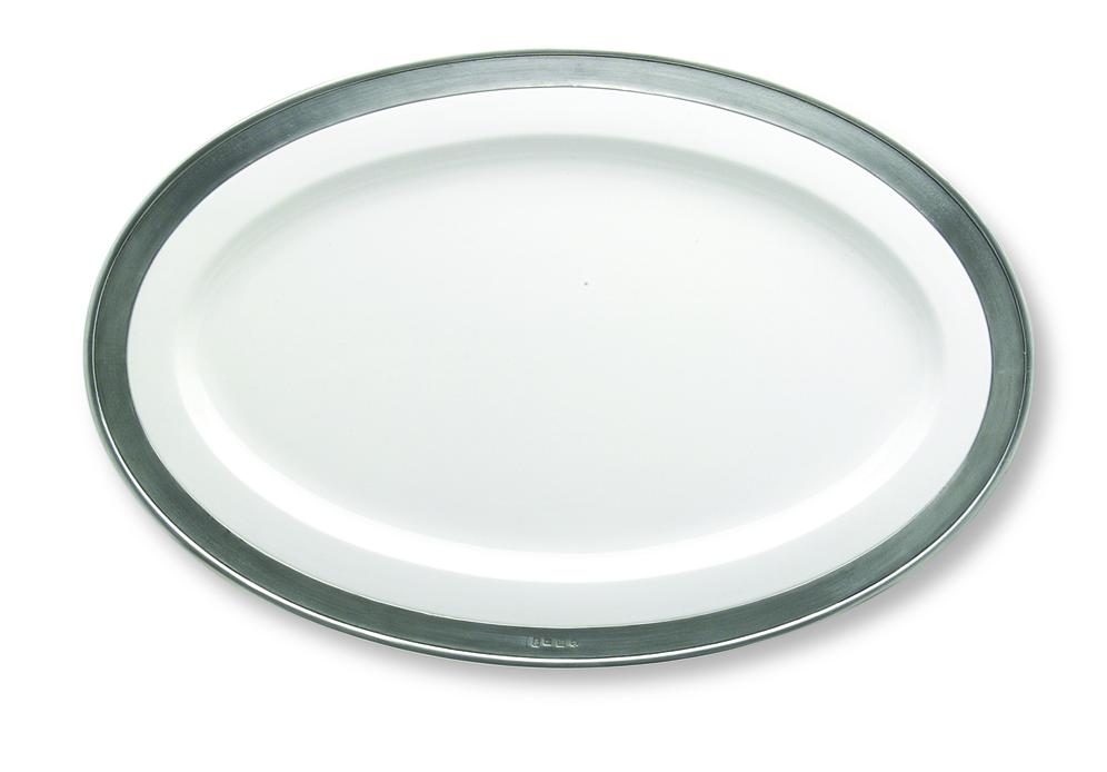 Match Pewter Convivio Oval Platter, Medium